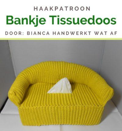 Haakpatroon Bankje Tissuedoos