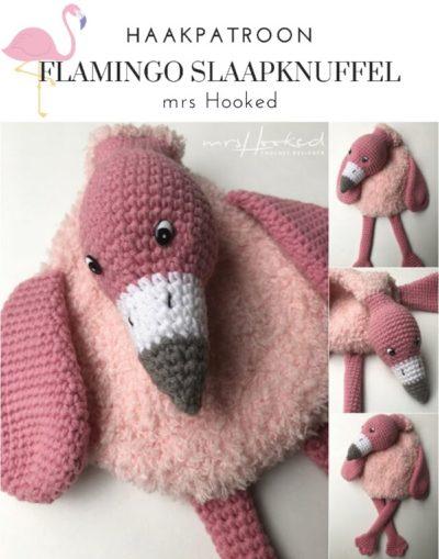 Haakpatroon Flamingo Slaapknuffel
