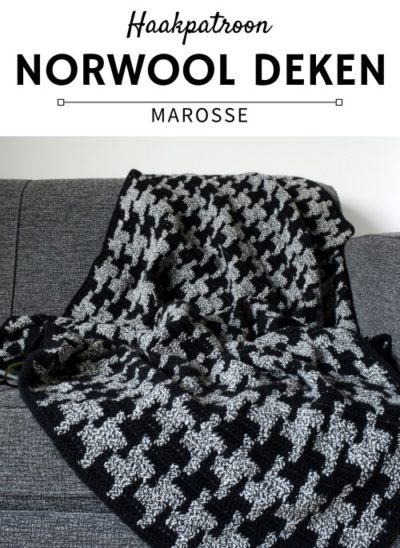 Haakpatroon Norwool Deken