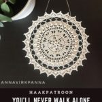 Haakpatroon You'll Never Walk Alone Mandala