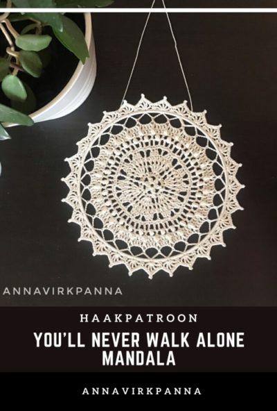 Haakpatroon You'll Never Walk Alone Mandala