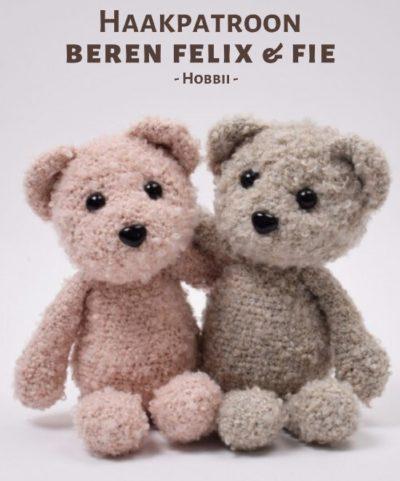 Haakpatroon Beren Felix & Fie