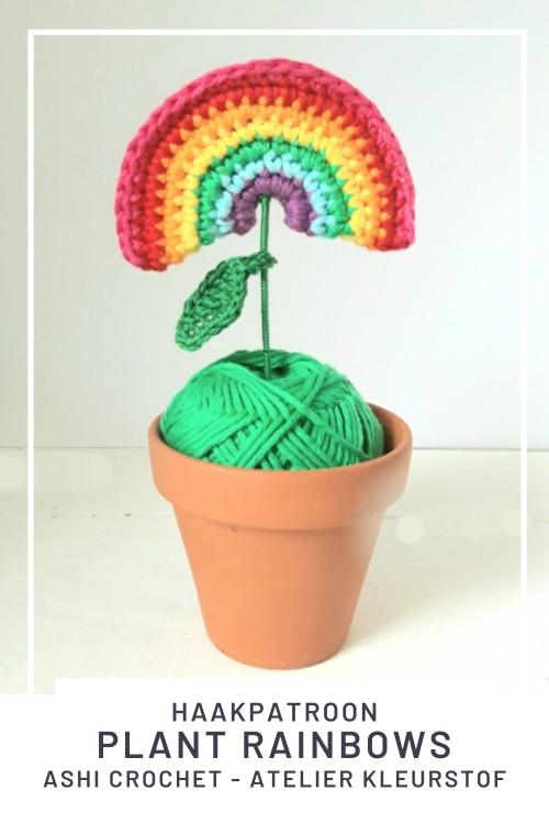 Haakpatroon Plant Rainbows