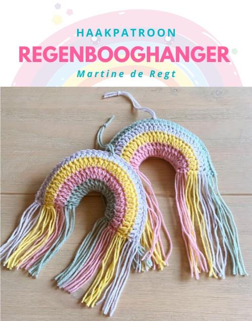 Haakpatroon Regenbooghanger