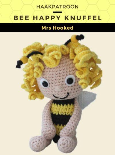 Haakpatroon Bee Happy Knuffel
