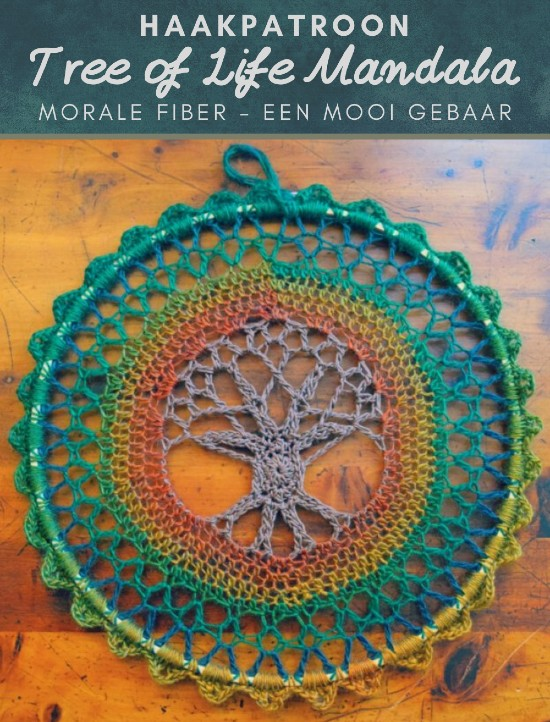 Haakpatroon Tree of Life Mandala