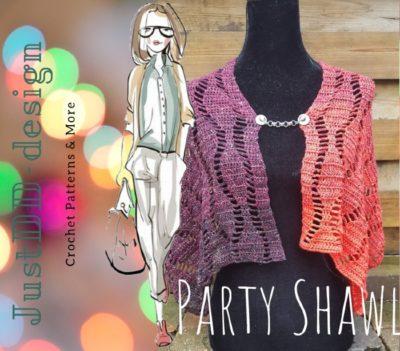 Haakpatroon Party Shawl