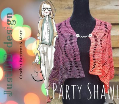 Haakpatroon Party Shawl
