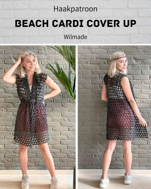 Haakpatroon Beach Cardi Cover Up