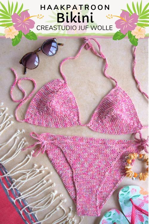 Haakpatroon Bikini