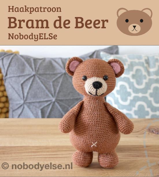 Haakpatroon Bram de Beer