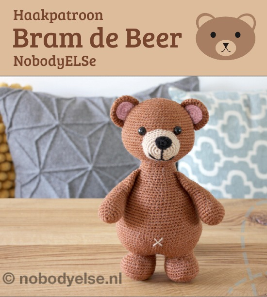 Haakpatroon Bram de Beer