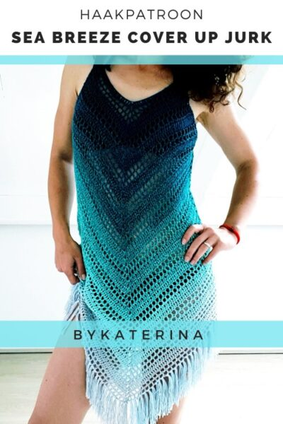 Haakpatroon Sea Breeze Cover Up Jurk