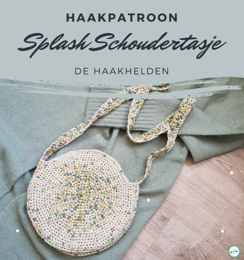 Haakpatroon Splash Schoudertasje