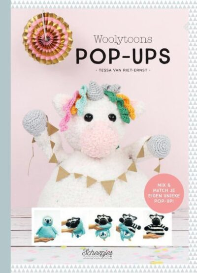 Review Boek Woolytoons Pop ups