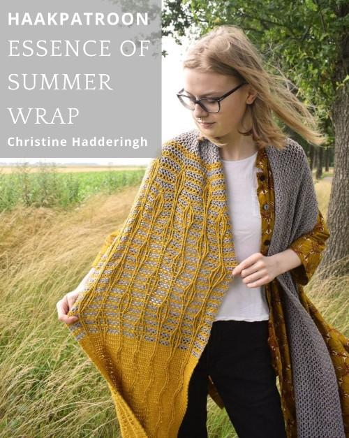 Haakpatroon Essence of Summer Wrap