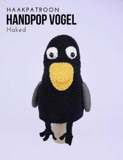 Haakpatroon Handpop Vogel