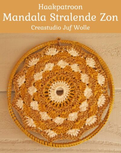Haakpatroon Mandala Stralende Zon