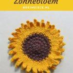 Haakpatroon Zonnebloem