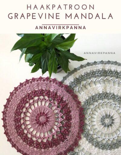 Haakpatroon GrapeVine Mandala