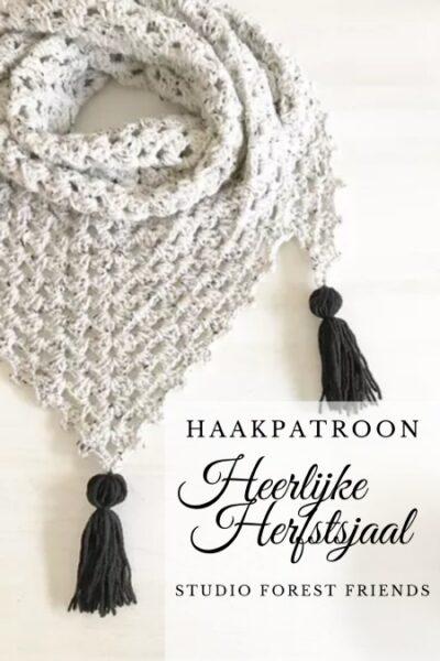 Haakpatroon Heerlijke Herfstsjaal