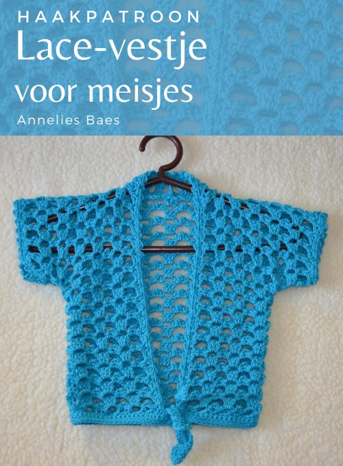 Haakpatroon Lace-Vestje voor Meisjes