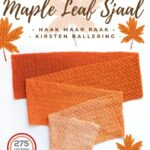 Haakpatroon Maple Leaf Sjaal