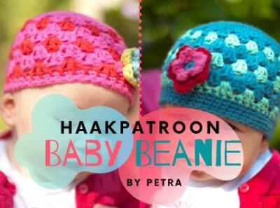 Haakpatroon Baby Beanie Haken