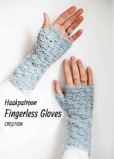 Haakpatroon Fingerless Gloves
