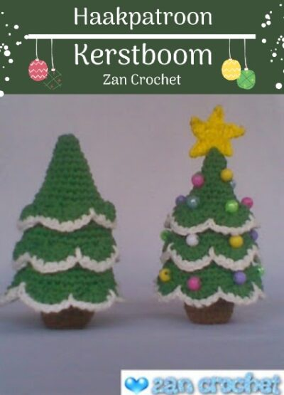 Haakpatroon Kerstboom