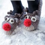 Haakpatroon The Rudolphs Sloffen