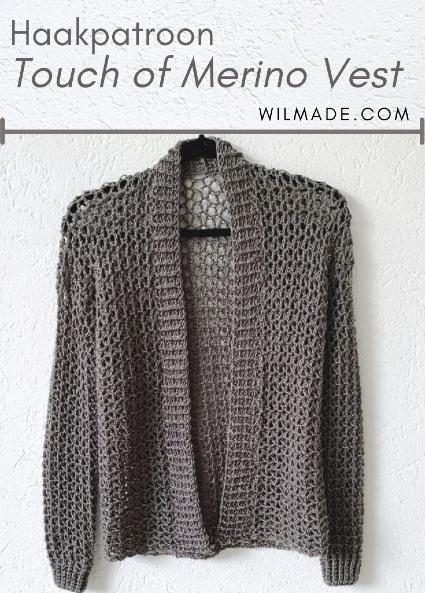 Haakpatroon Touch of Merino Vest