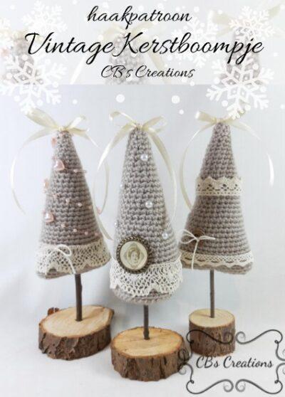 Haakpatroon Vintage Kerstboompje