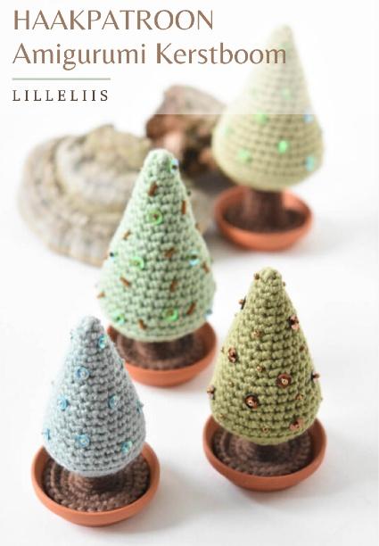 Haakpatroon Amigurumi Kerstboom