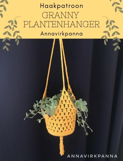 Haakpatroon Granny Plantenhanger
