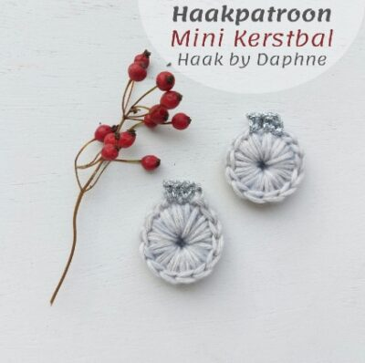 Haakpatroon Mini Kerstbal