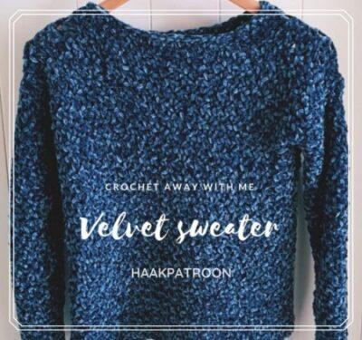 Haakpatroon Velvet Sweater