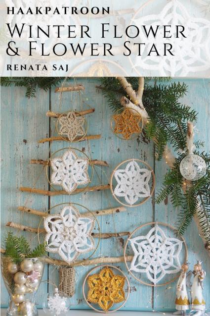 Haakpatroon Winter Flower Star