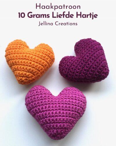 Haakpatroon 10 Grams Liefde Hartje