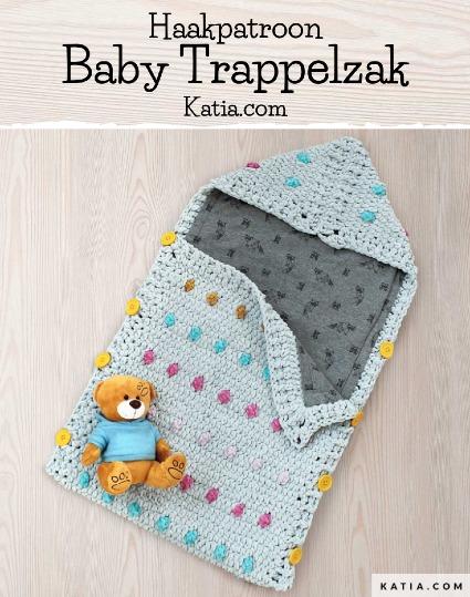 Haakpatroon Baby Trappelzak