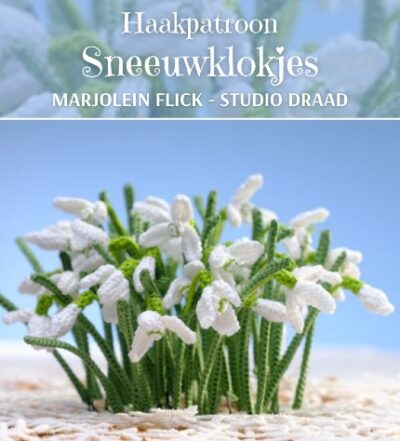 Haakpatroon Sneeuwklokjes