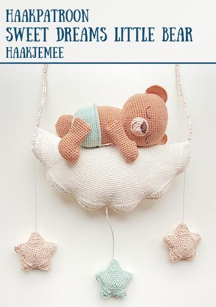 Haakpatroon Sweet Dreams Little Bear