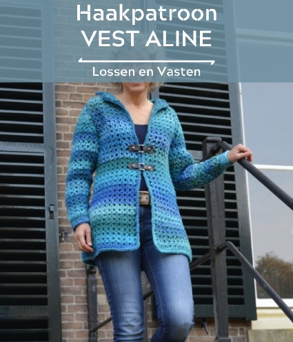Haakpatroon Vest Aline
