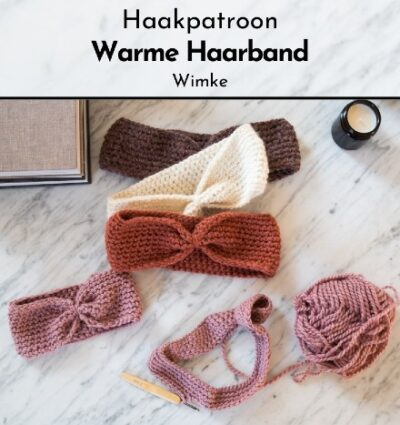 Haakpatroon Warme Haarband
