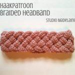 Haakpatroon Braided Headband haken
