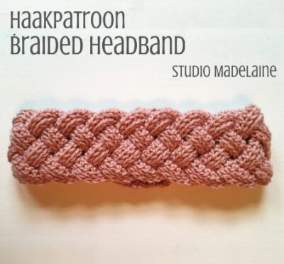 Haakpatroon Braided Headband haken