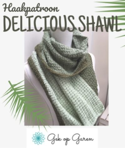 Haakpatroon Delicious Shawl