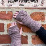 Haakpatroon Delight Polswarmers