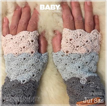 Haakpatroon Gloveletty Handschoen
