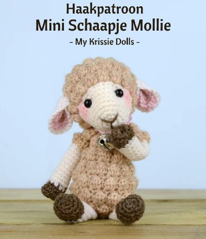 Haakpatroon Mini Schaapje Mollie